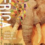 クロスロードカフェでアフリカン・ワイヤー&ビーズアートのコラボ展(Joseph & ZUVALANGA)が始まる!(10/22〜12/2)