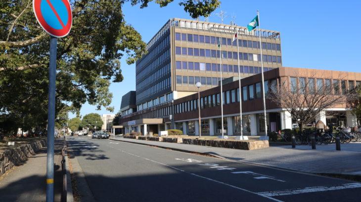 伊丹市役所の新庁舎工事がスタート。1月8日から北側道路と広場が閉鎖に