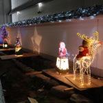 伊丹酒蔵通りの「クリスマスのまち灯り」は12月25日まで【フォトリポート】