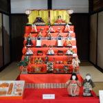 伊丹郷町館で恒例の「ひな飾り」が始まってる(3月8日まで)